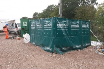Sound reduction system installed at Bathampton for Colas