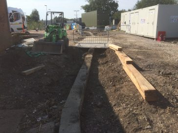 Theale Station Compound Upgrade