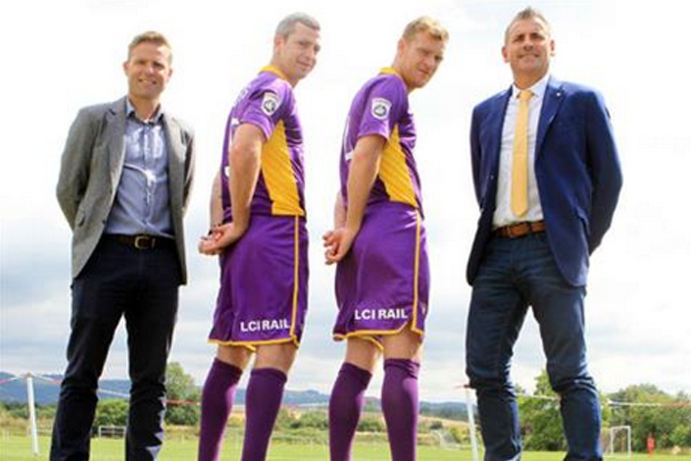 LCI Rail are Cheltenham Town's new shorts sponsors