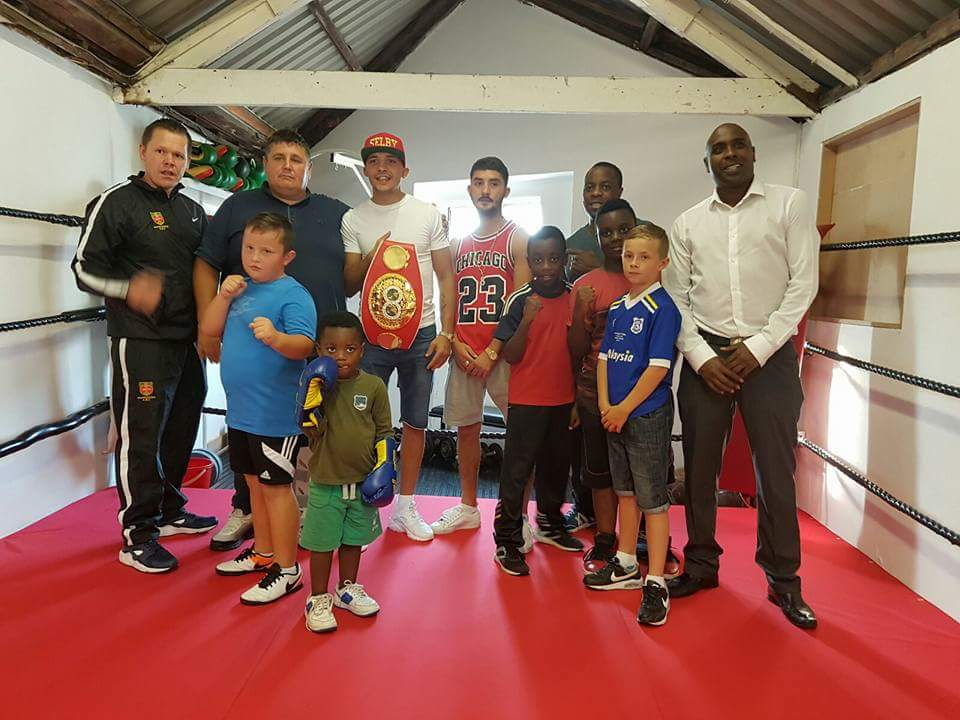 Community project – Grange Catholic Boxing Club