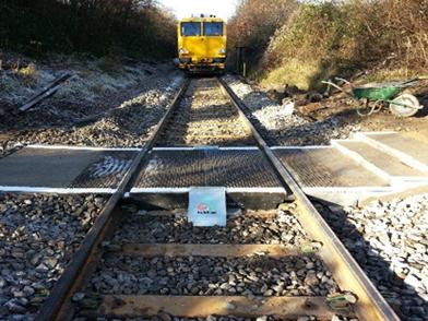 Lapford Railway Station Crossing