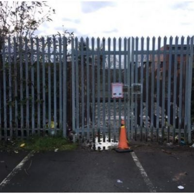 Old gates and fence to be replaced
